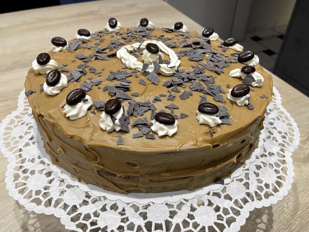 Bild zu Mokka Buttercreme Torte